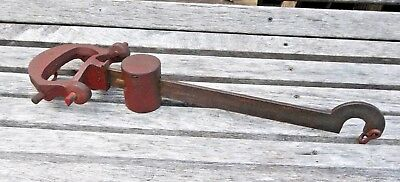 Antique/vintage American Family beam scale parts: BEAM with SLIDING WEIGHT