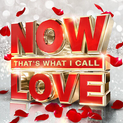 Various Artists : Now That's What I Call Love 2016 CD 3 discs (2016) ***NEW***