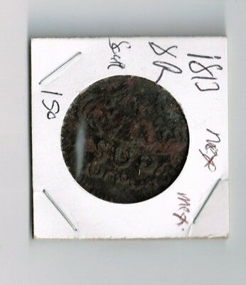 """1813 MEXICO. War of Independence. Oaxaca. Morelos. 8 Reales """"SUD"""", 1813."""