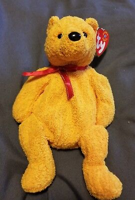 TY Beanie Baby Babies POOPSIE (POOH) Bear NEW Condition Retired