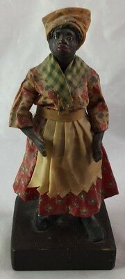 Black Americana Wax Figure Folk Art Candy Doll Kate Latter's Candies New Orleans
