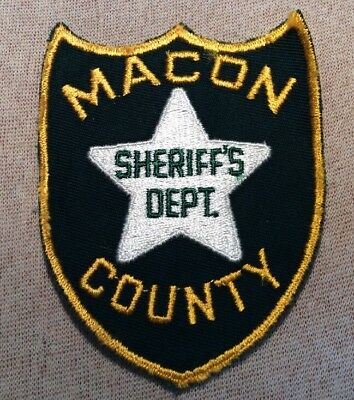 AL Macon County Alabama Sheriff Patch