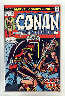 Conan the Barbarian #23 FN+ (Looks Better) Barry Smith, Gil Kane, 1st Red Sonja
