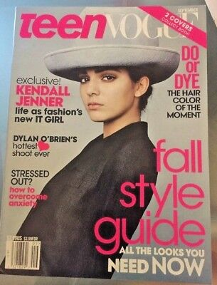 New TEEN VOGUE US Sept 2014 - KENDALL Jenner; Fall Style Guide