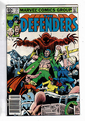 Defenders #121(VF) and #122(VF+), Marvel, 1983