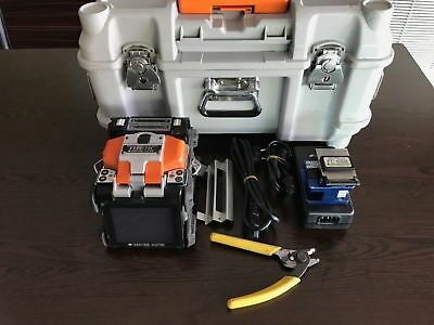 SUMITOMO TYPE-71C FIBER Fusion Splicer w/ FC-6RS Cleaver TOTAL ARC 16660