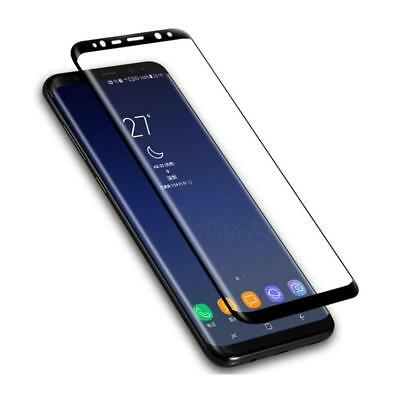 AU 6D Curved Full Cover Tempered Glass Screen Protector for Samsung Galaxy S8 S9