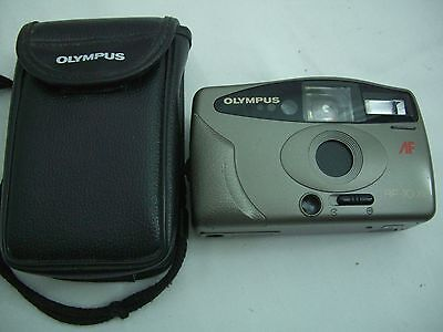 Olympus AF-10XB Compact 35mm Automatic Point & Shoot Retro Film Camera with Case