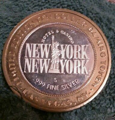 New York, New York Limited Edition  $10.00 Gaming Token Las Vegas ( 1 Day Sale )