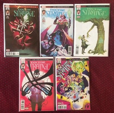 Doctor Strange #381-385 Loki Sorcerer Supreme Donny Cates Lot High Grade