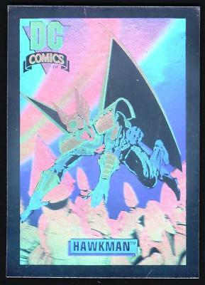 DC Comics Trading Card 1991 - Hawkman - Hologram Card DCH6