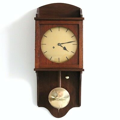 JUNGHANS Antique Wall CLOCK Museum TOP Quality ALL FULLY RESTORED! 1920s Germany