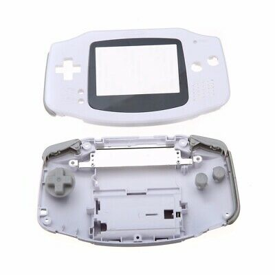Replacement Full Housing Shell Case For Nintendo Gameboy Advance GBA White Kit