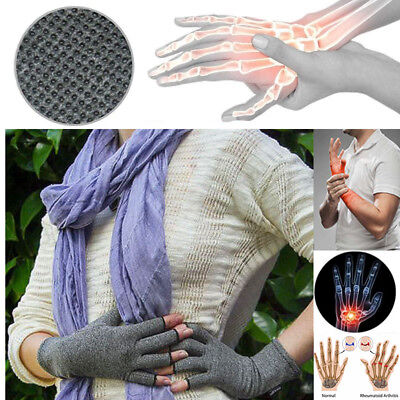 Arthritis Gloves Compression Support Hand Wrist Pain Relief Carpal Tunnel Cotton