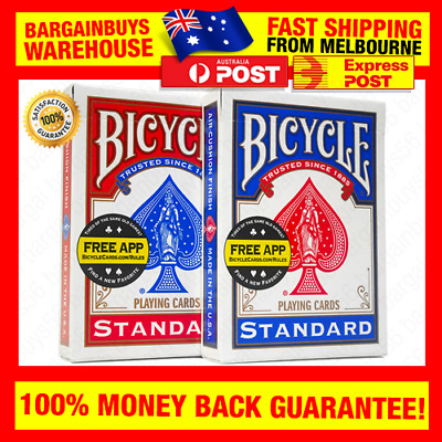 2 Decks of New Bicycle Playing Cards Sealed Poker Blackjack Cards Made in USA