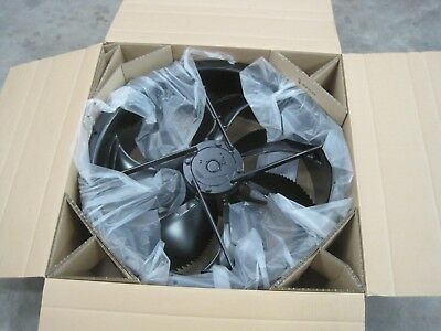 High Performance Axial Fan 710 dia spraybooth dyno cell 400v 3 ph 15000m3/he new