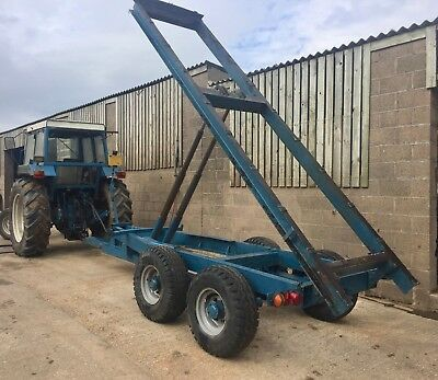 Tipping Trailer Project Twin 3 Stage Rams VAT INCLUDED Excellent Tyres