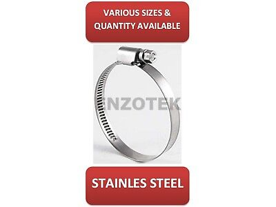 Yds Jubilee Type Stainless Steel Hose Clips Clamps 25Mm-40Mm Up To 70Mm-90Mm