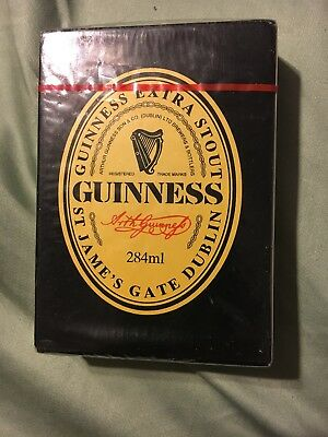GUINNESS playing cards - BRAND NEW