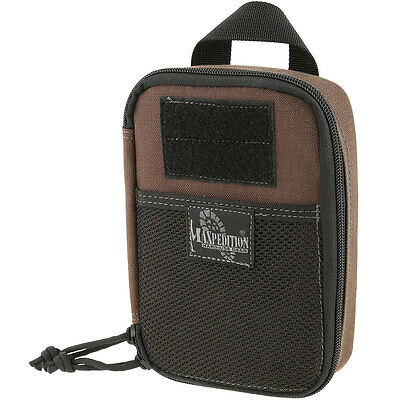 Maxpedition #0261BR Fatty Pocket Organizer (Brown) Plus Flag Patch