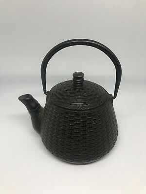 Japanese cast iron Tetsubin Teapot 6 inches