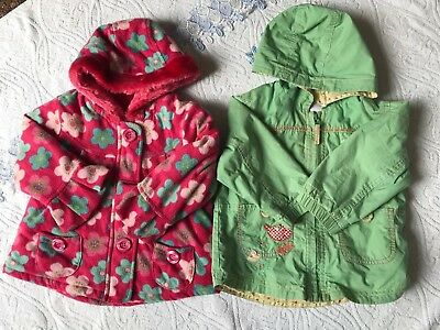 Baby Girls Gorgeous Next Jackets Bundle. 18-24 Months. Excellent Condition.