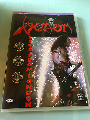 DVD    Venom  Live From London Label: Scantrade Entertainment ‎