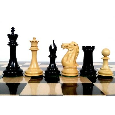 4 2 American Staunton Luxury Chess Pieces Only Set Double