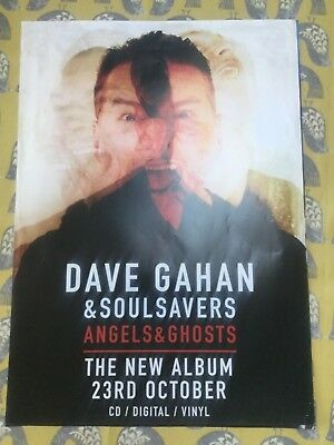 Dave Ghana & Soulsavers - Angels &Ghosts. Promo Poster (Mint) (depeche mode)