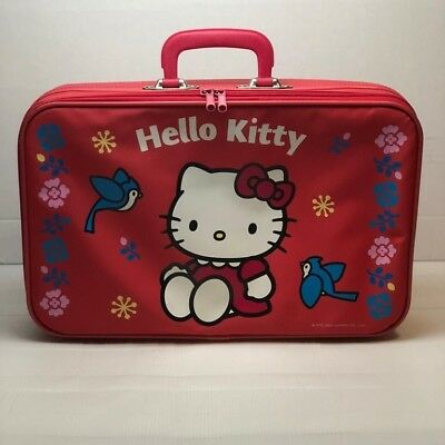 Hello Kitty Luggage Childrens Suitcase SANRIO Vintage Rare | Early 2000s