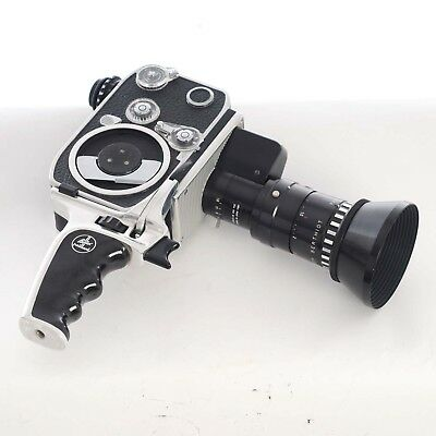 Bolex-Paillard P2 8mm Cine Camera With Som Berthiot 9-30mm f/1.9 Lens (4843G)