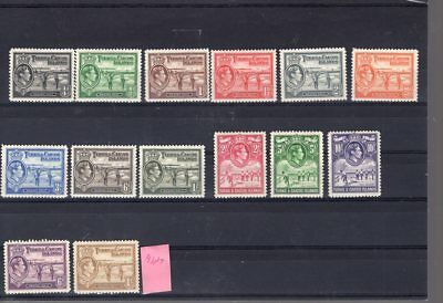Turks & Caicos  Isl.mnh  4 Stamps  Are Mint  .   1937   130 .00  S.g.      025/6