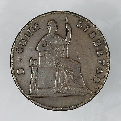 1860 Mexico 1/4 Real