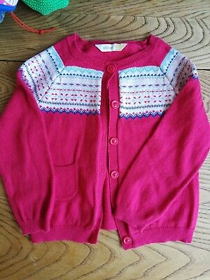 John Lewis Girls Cardigan 12-18mths