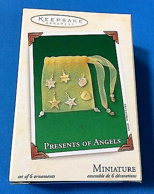 "Hallmark ""Presents of Angels Miniature Ornament 2003"
