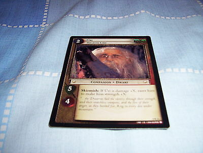 Lord of the Rings TCG: Reflections Rare: 9R11 Uri Dwarven Lord Free UK P&P