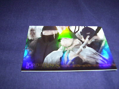 Lord of the Rings The Return of the King Prismatic Foil 5/10 Free UK P&P