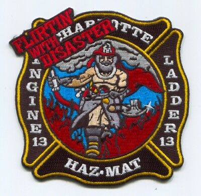 Charlotte Fire Department Station 13 Patch North Carolina NC