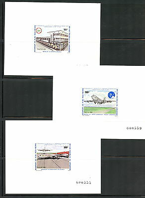 Cameroun 1981 aviation Cameroun Airlines Deluxe Cards MNH G773