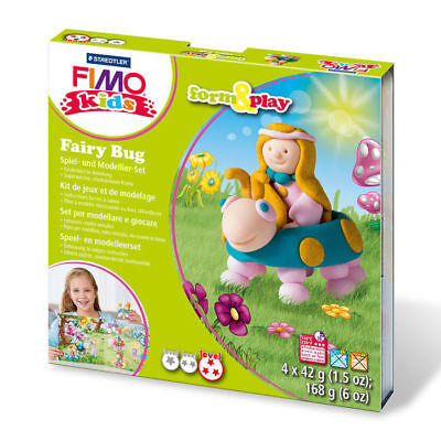 "New Fimo Kids Form & Play Set "" Fairy Bug """