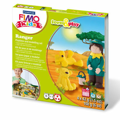 "New Fimo Kids Form & Play Set "" Ranger """