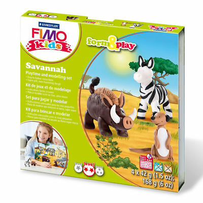 "New Fimo Kids Form & Play Set "" Savanah """