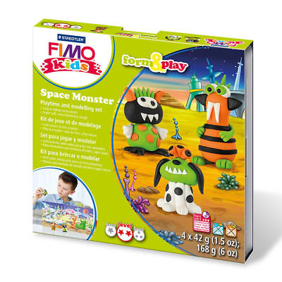 "New Fimo Kids Form & Play Set "" Space """
