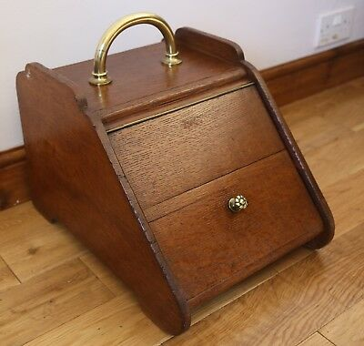 Antique Edwardian Coal Box / Purdonium