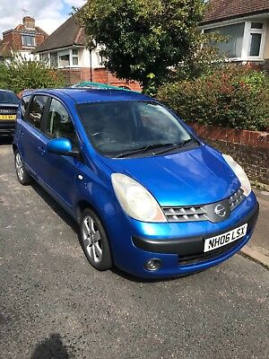 Nissan Note (Blue) 1.6 Petrol - good condition