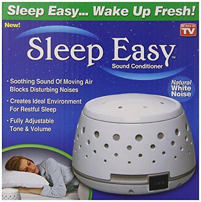 Sleep Easy Sound Conditioner As Seen On Tv Original Natural White Noise