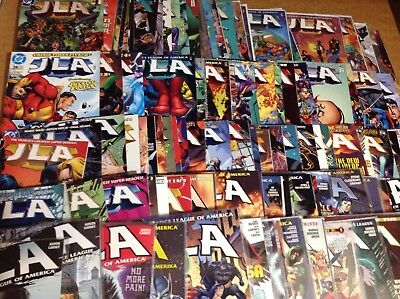 JLA #'s 1-125! COMPLETE SERIES W/ ANNUALS 1-4 & 1 MIL! JUSTICE LEAGUE OF AMERICA