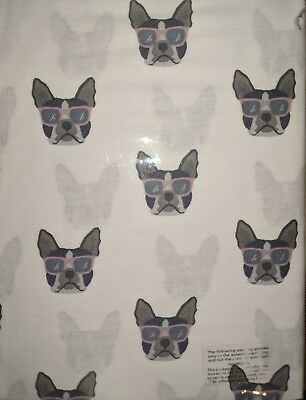 Boston Terrier 100% Cotton Standard Pillow Cases Set Of 2 Cute! Cynthia Rowley