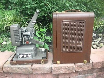 Revere Model S-16 Sound Movie Projector with case