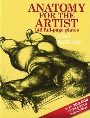 Anatomy for the Artist by Barcsay, Jeno Hardback Book The Cheap Fast Free Post